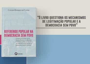 Livro discute referendo popular na democracia sem povo